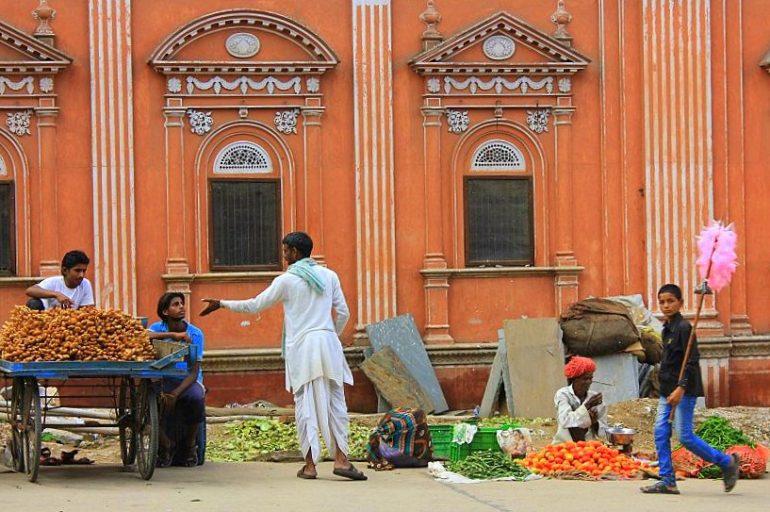 Jaipur street scene