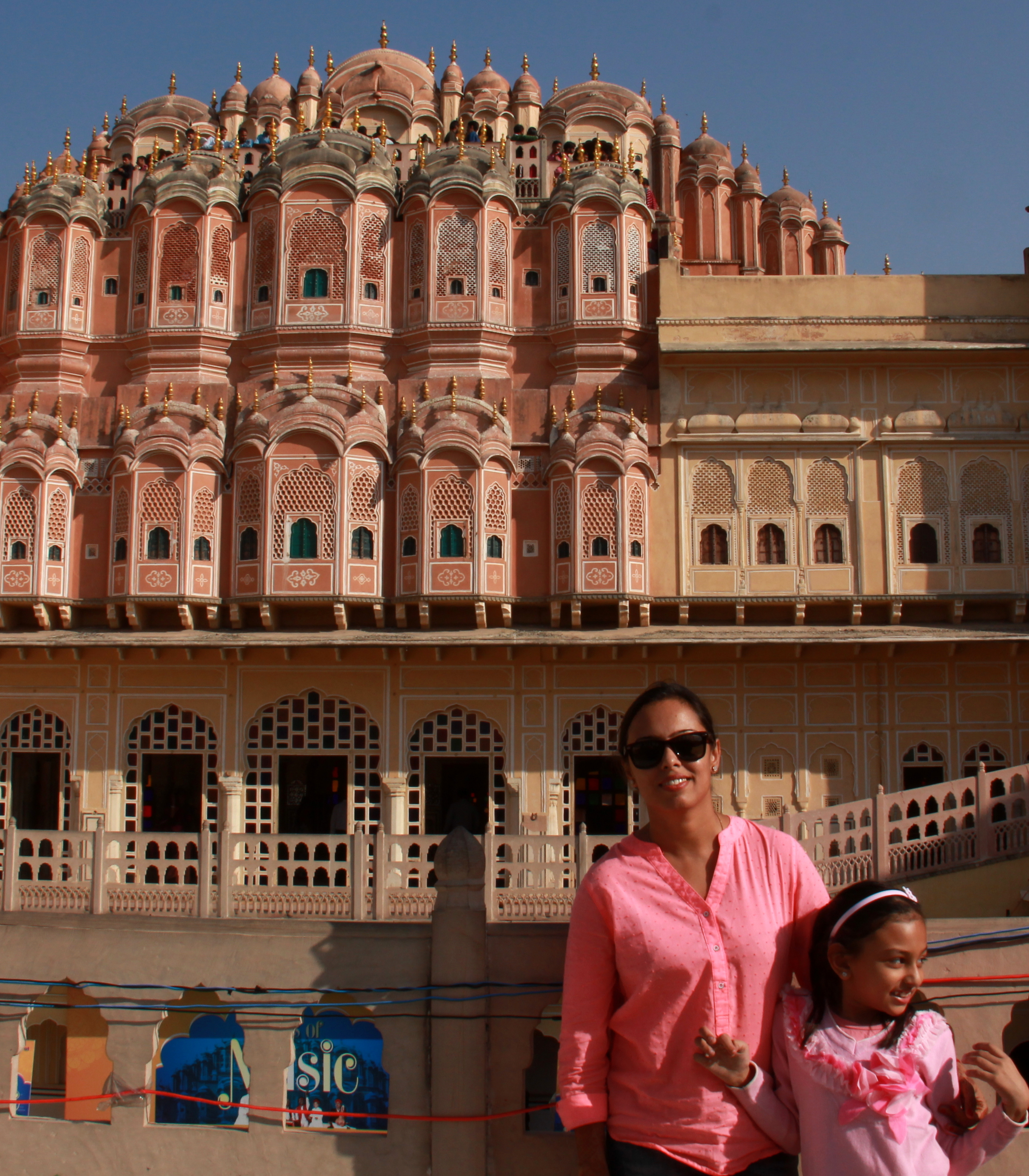 Hawa mahal is not to be missed when in jaipur with kids