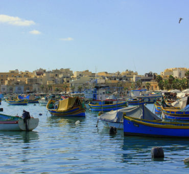 The charming village of Marsaxlokk
