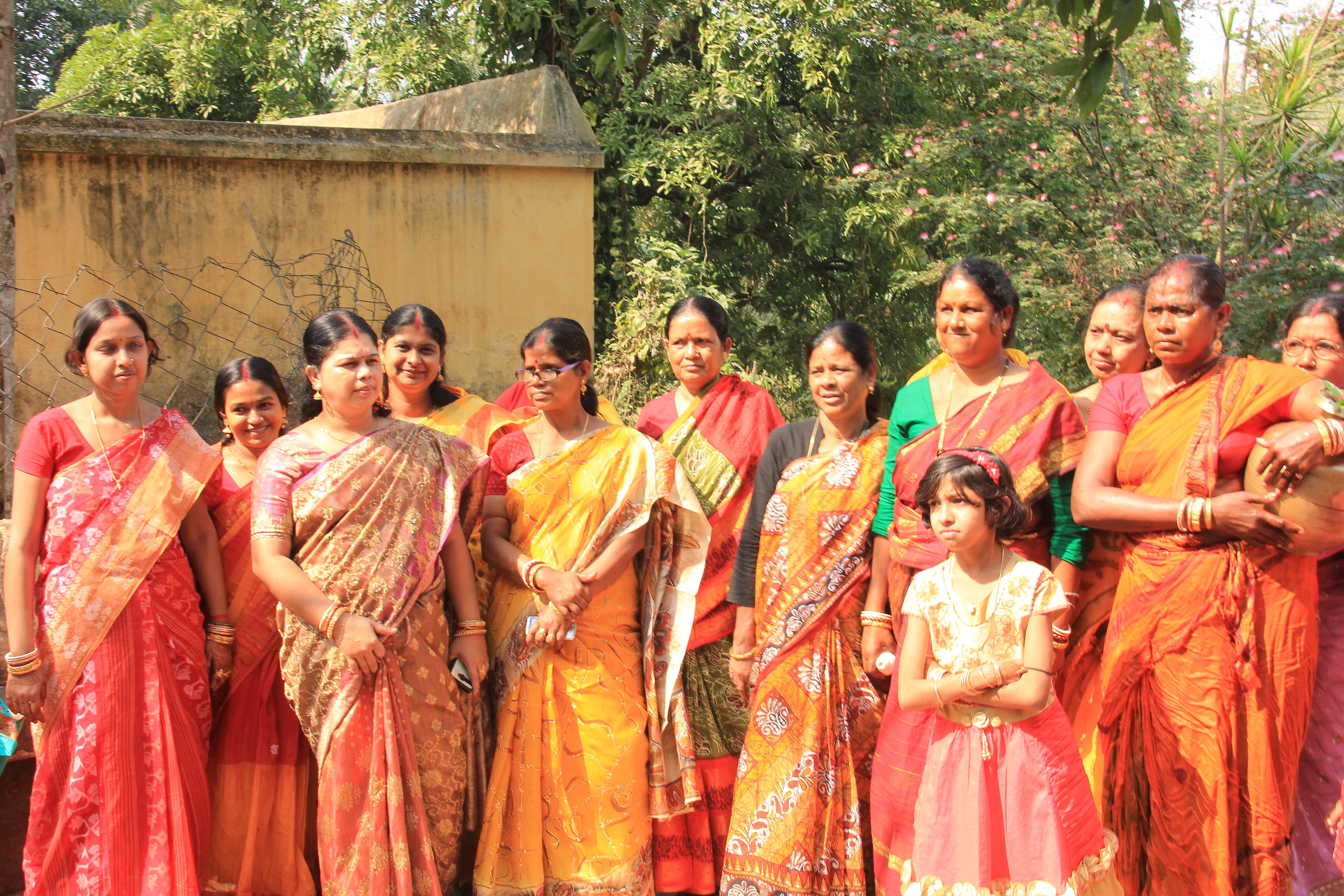 Wedding rituals in a Bengali village
