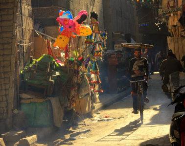 Cairo spring means warm sunshine