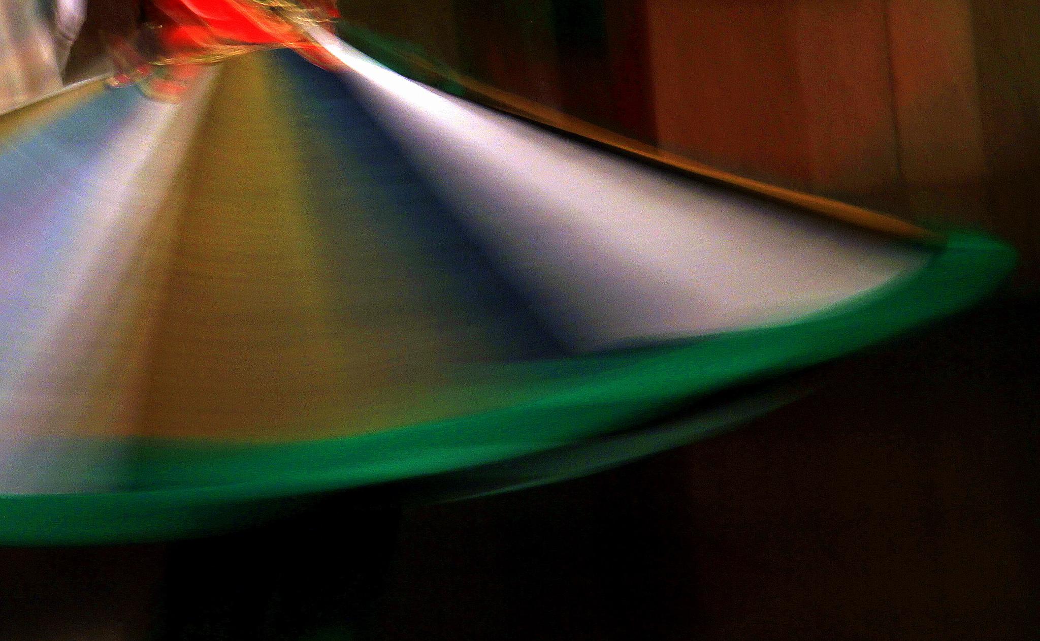 Multi coloured skirt of a tanoura dancer