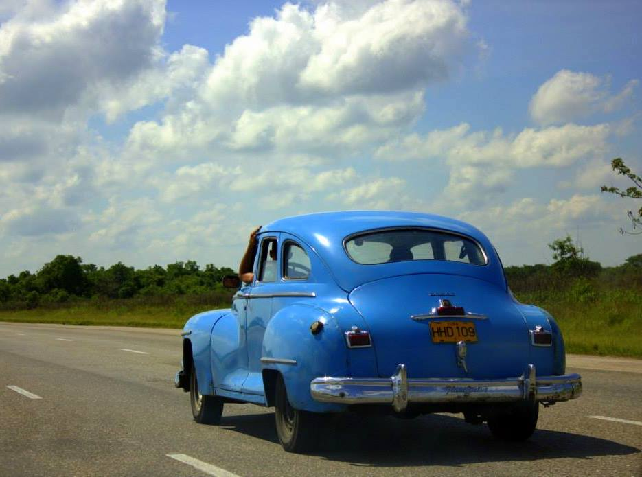 Cuban life involves around old cars