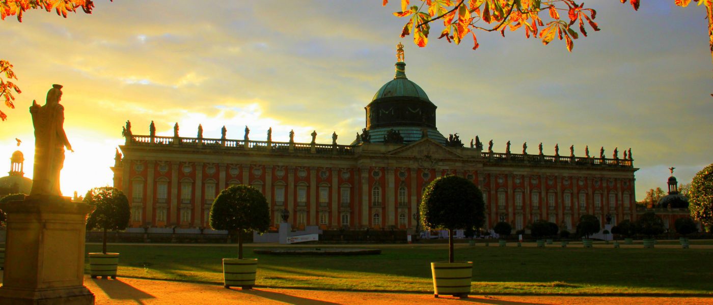 the castles of sansouci are in potsdam