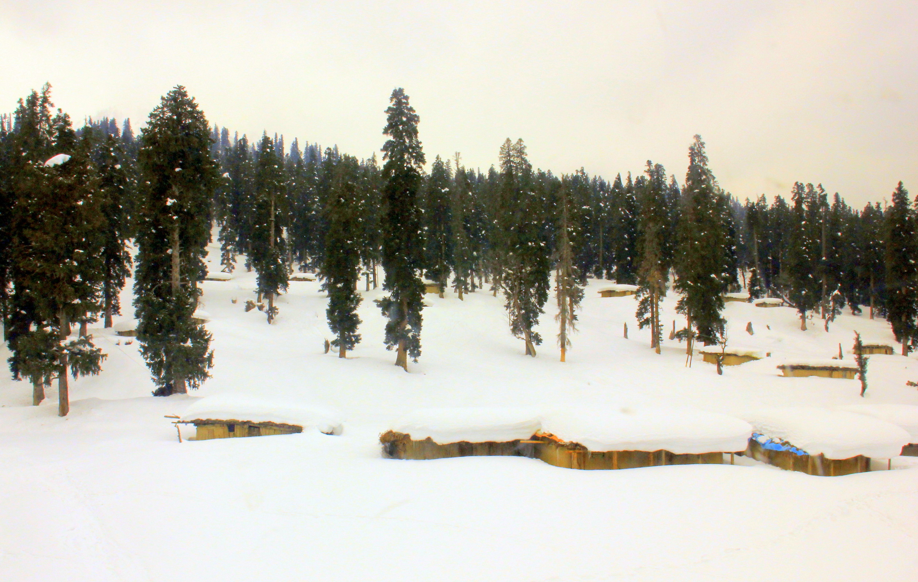 Gulmarg winter is beautiful