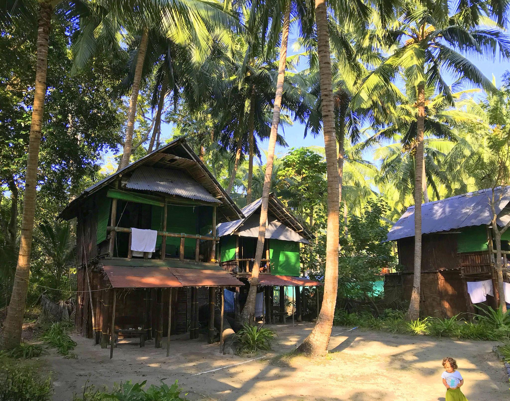 beach huts make perfect havelock island holiday