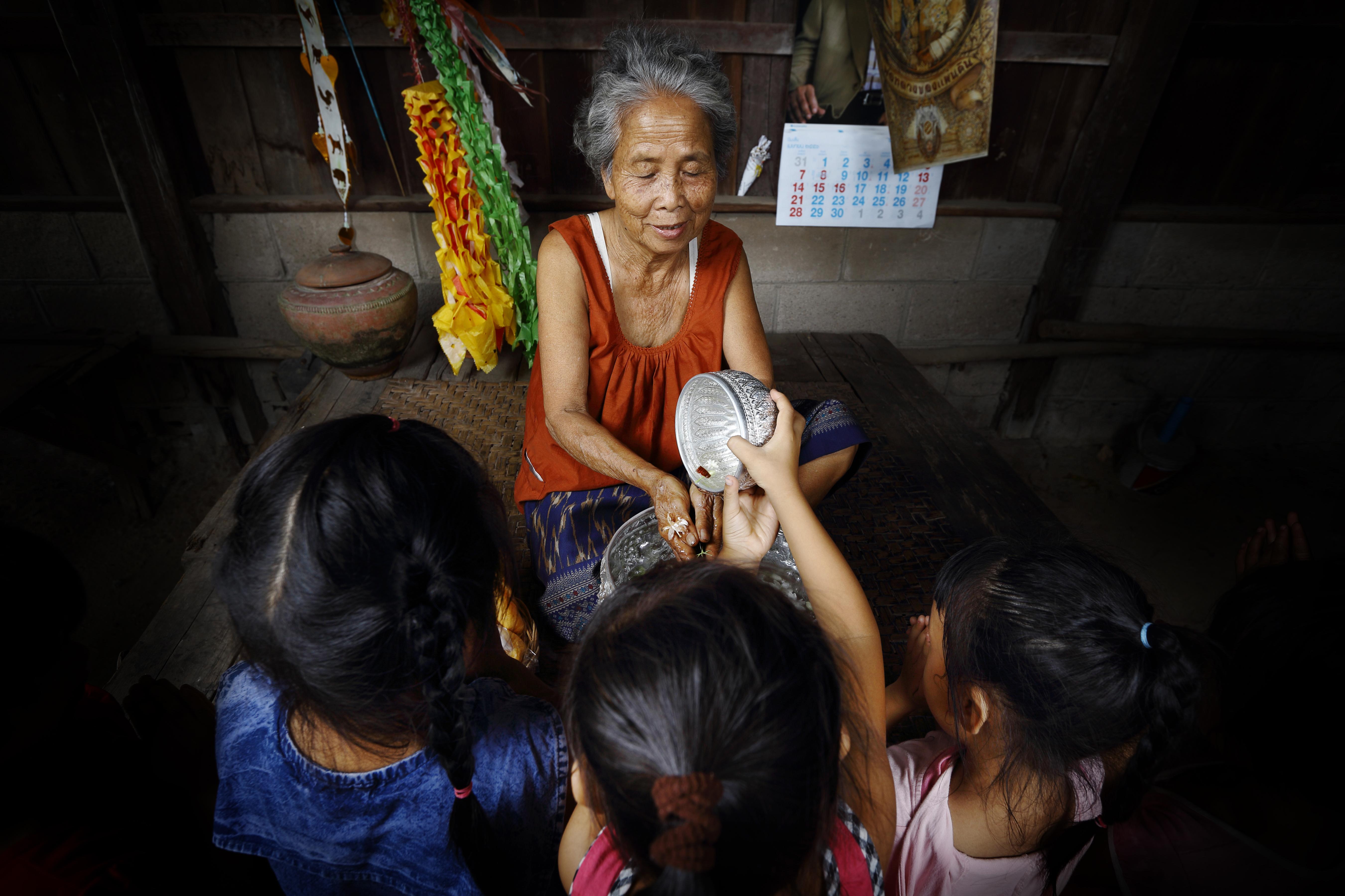 Songkran is very religious