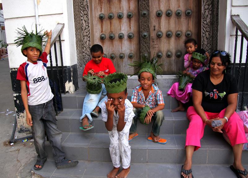 Zanzibar stone town residents