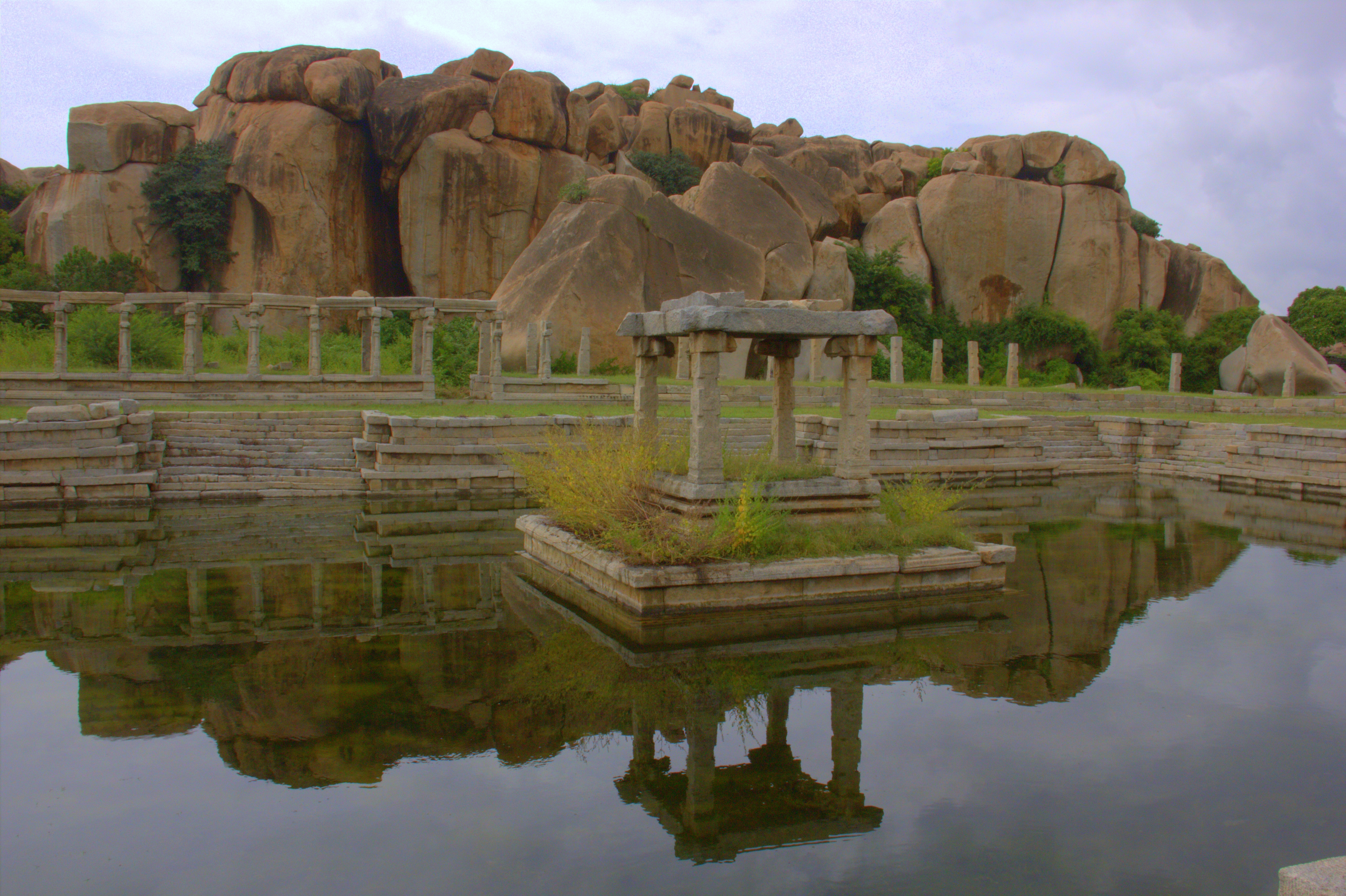 explore hampi riverside ruins at your own pace