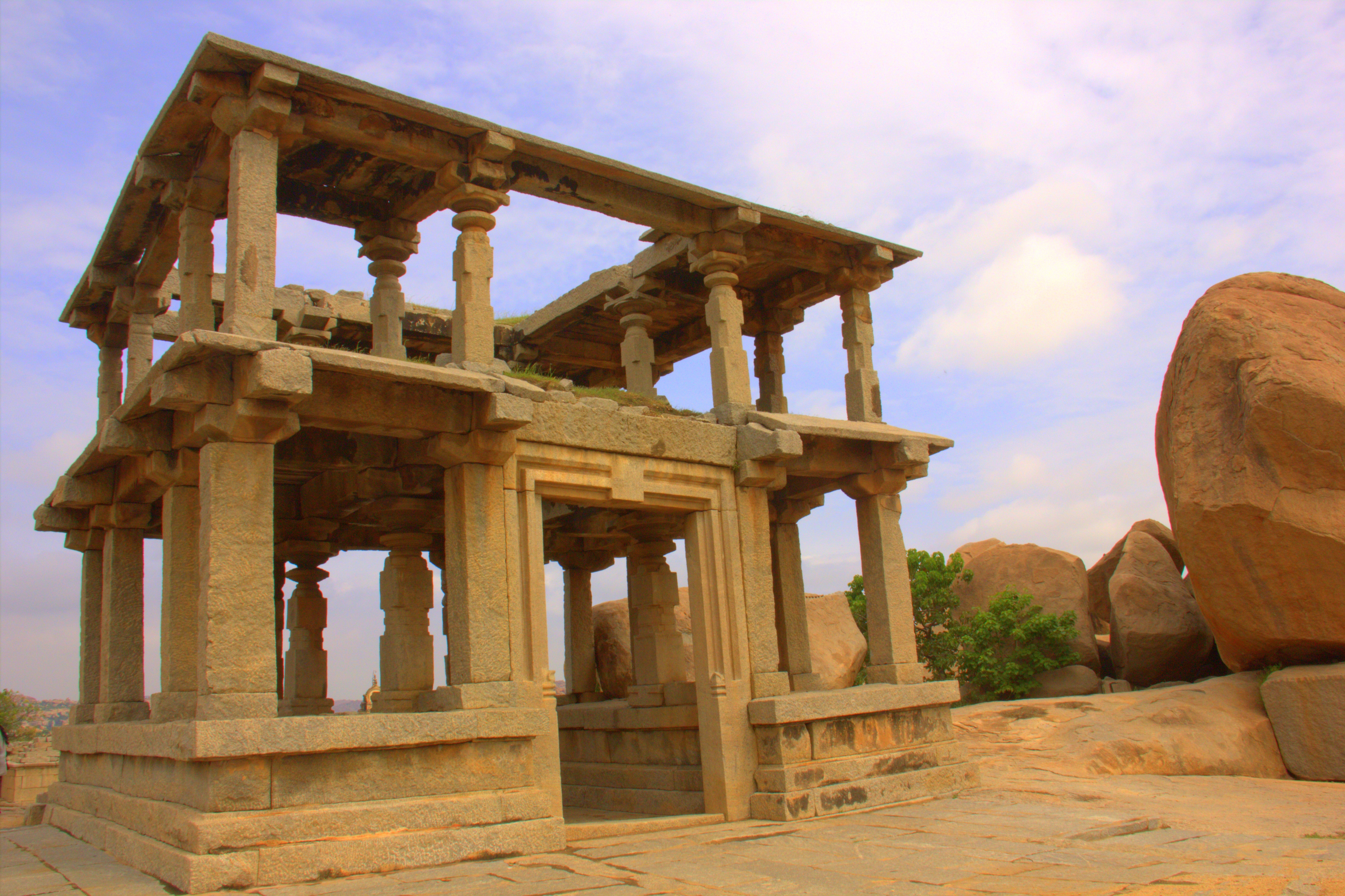 Hampi Royal Enclosures are not to be missed