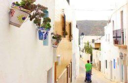 nijar is a pretty village in almeria