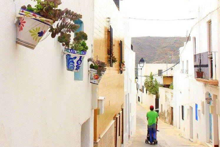 nijar is a pretty village in almeria