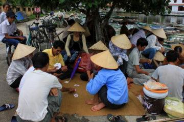village near Hoa Lu