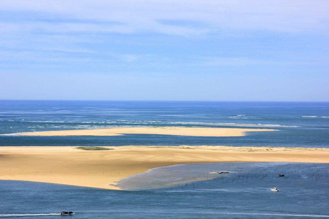 views from dune de pilat