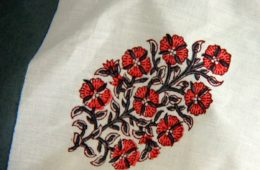 a beautiful hand block print motif