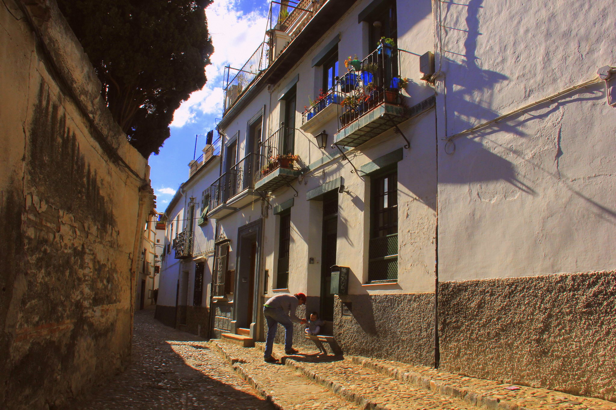 Albayzin is one of the most photogenic quarters of Granada