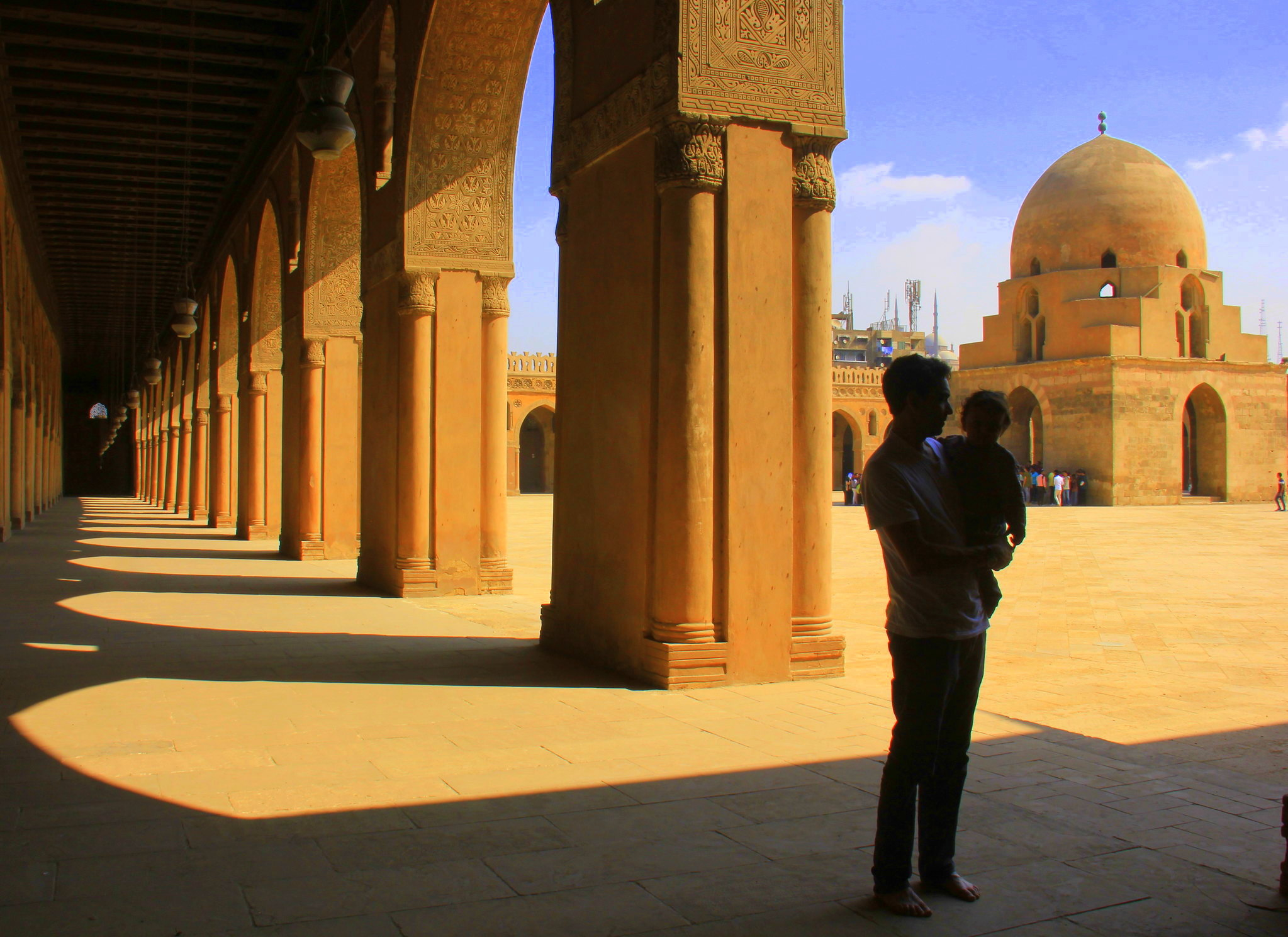 Ibn Tulun Mosque after restoration