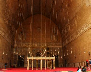 liwan of sultan hassan mosque madrassa in cairo