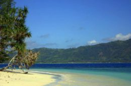gili islands are near lombok
