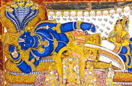 srirangam temple mural