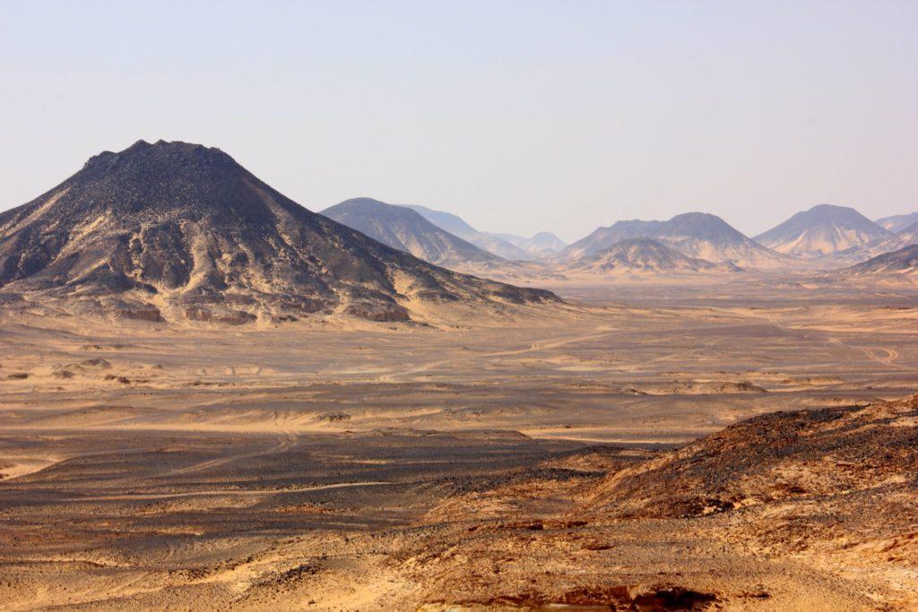 The basalt topped Black Desert