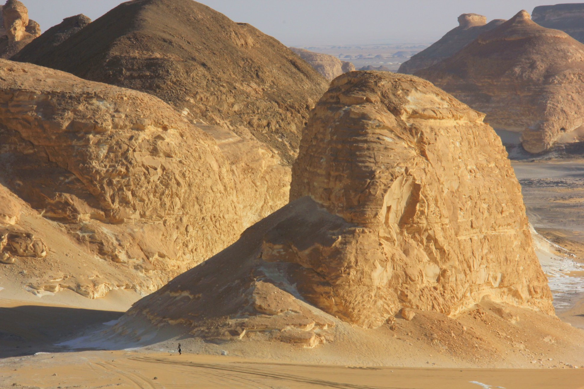 agbat near the black desert in egypt