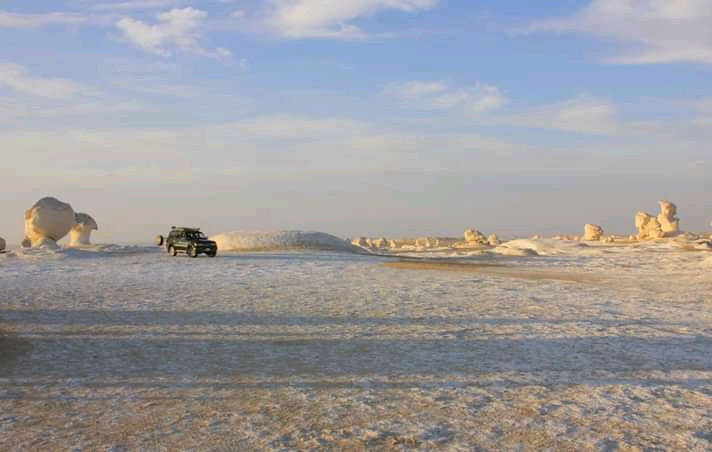 White Desert safaris are popular getaways from Cairo