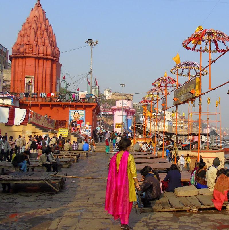 Varanasi is like an all sensory explosion.