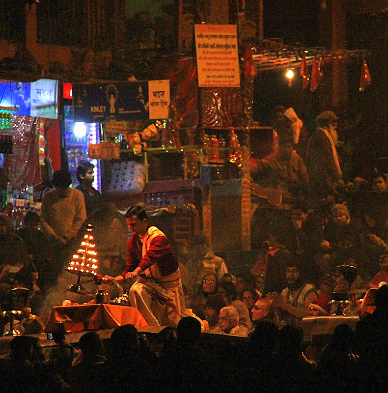 Arti at Varanasi ghat