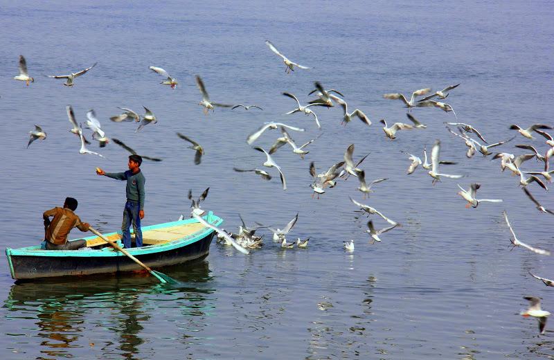 Ganges boat ride in Varanasi