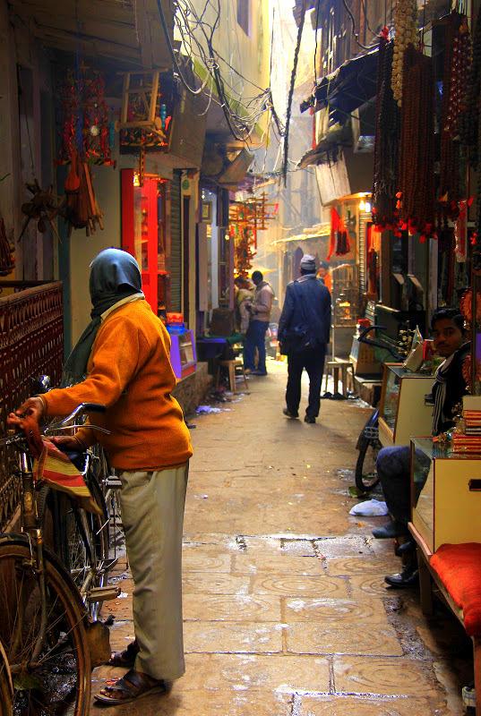 Varanasi has dingy lanes