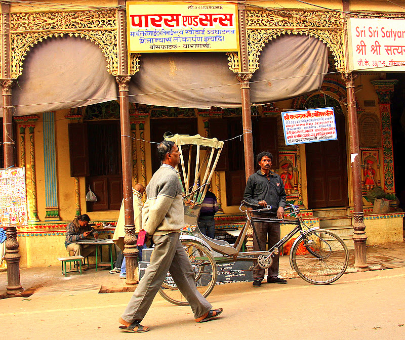 Varanasi is one of the oldest living cities in the world.