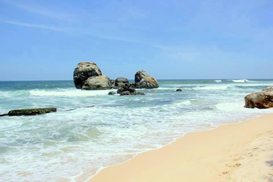 The broad clean Koggala Beach
