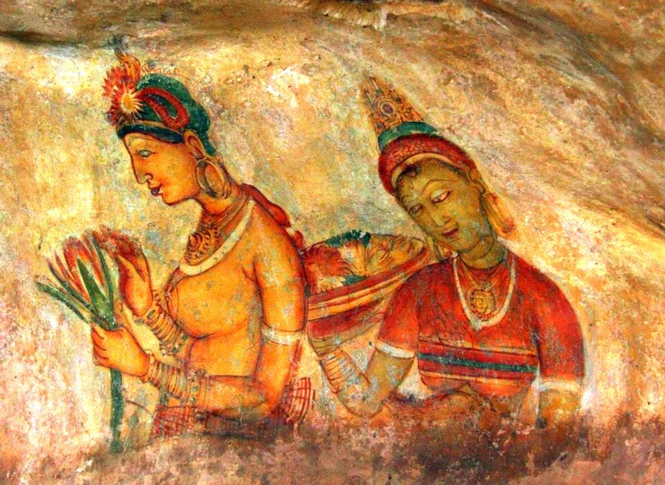 The celestial beauties of Sigiriya
