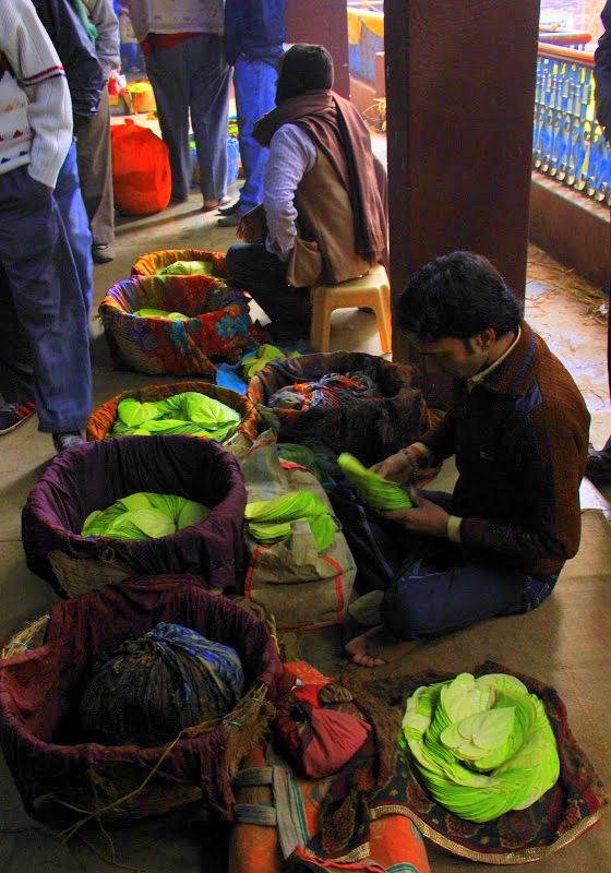 paan auction at one of varanasi markets