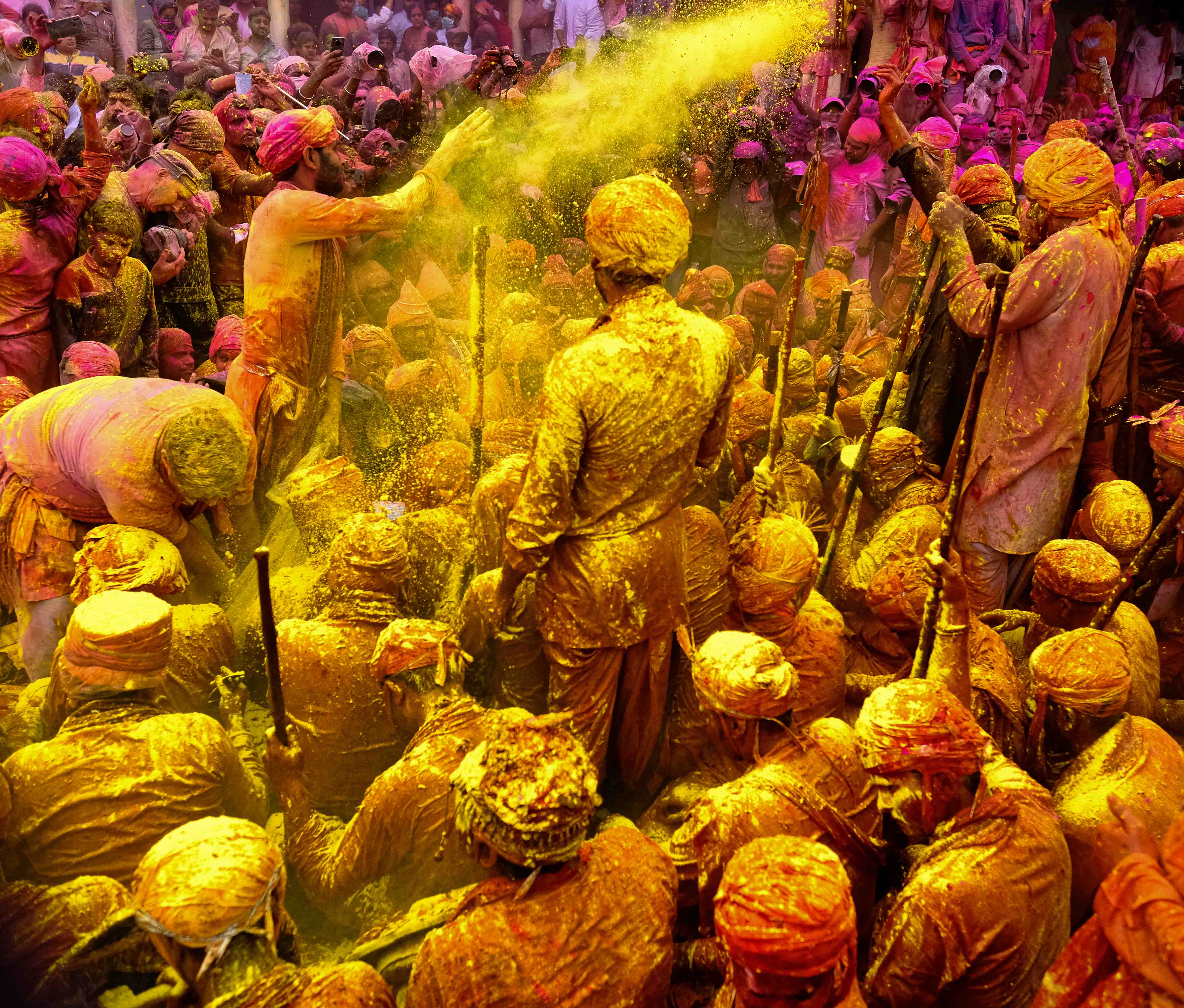 braj holi is one of the most beautiful festivals of india