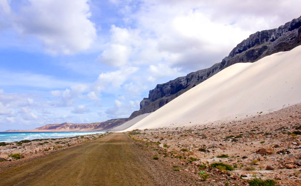 socotra yemen arhar beach