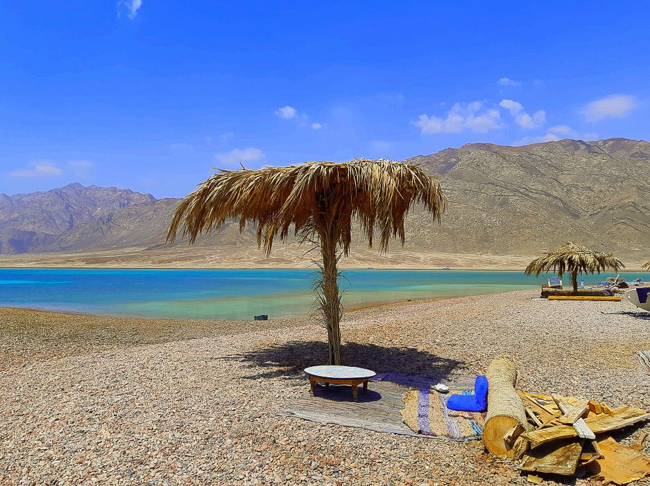 The sun-kissed beaches of Dahab