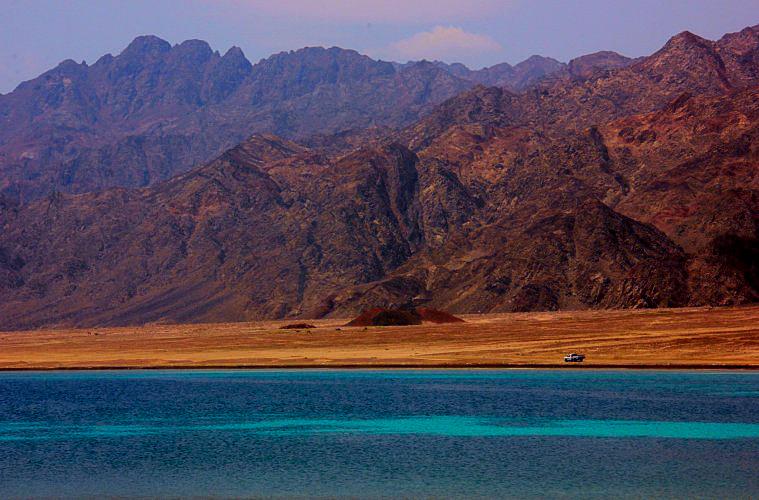 the mountains and the sea of the sinai peninsula