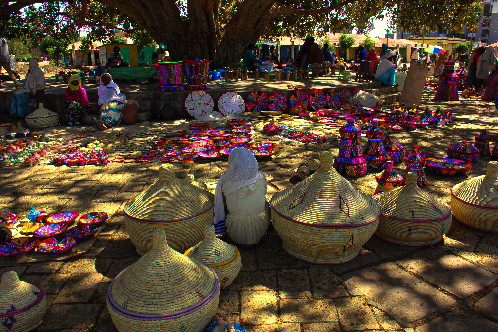 aksum basket market