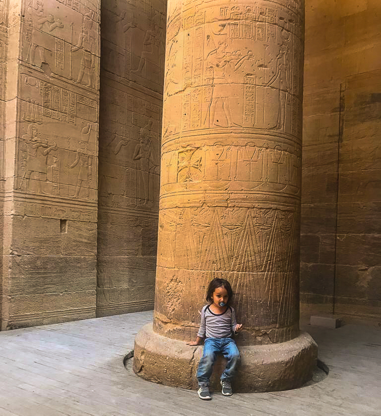 The Temple of Khnum in upper egypt