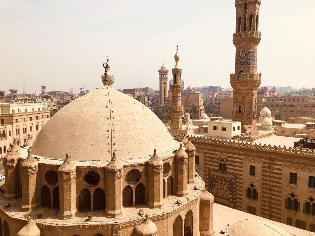 the mosque of abu dahab